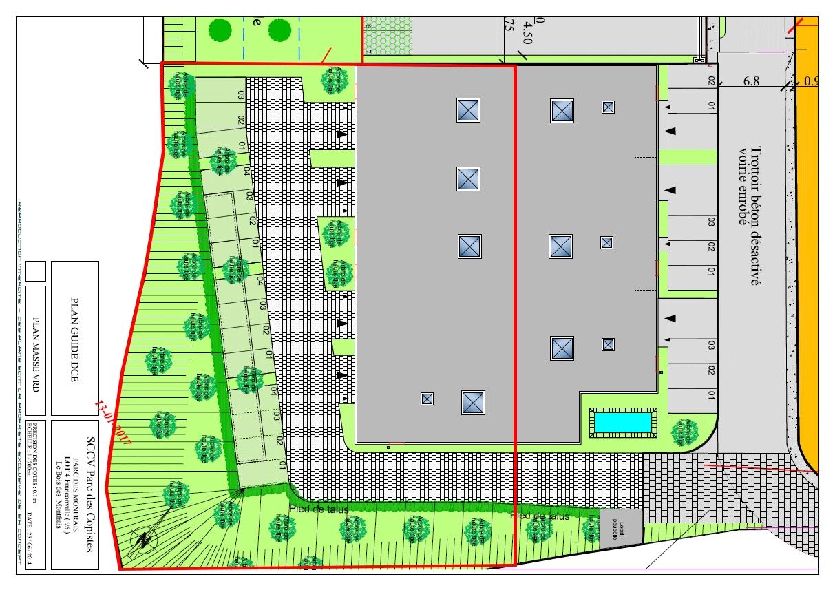 Bâtiment neuf  indépendant – 969 m² sur 2034 m² de terrain